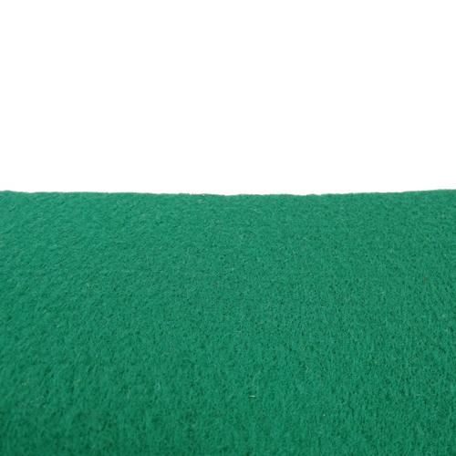 Rouleau de feutrine épaisse - Vert billard 0165