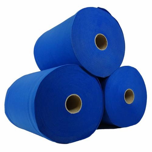 Rouleau de feutrine épaisse - Bleu 0153