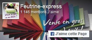 Aimer Feutrine Express sur Facebook