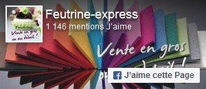 Aimer Feutrine Express sur Facebook