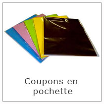 Coupons en pochette